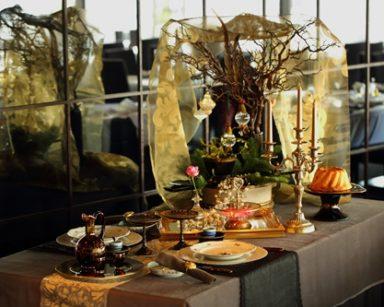 """聖夜のテーブル """"マリーアントワネット"""" コンセプトは「Japan」"""